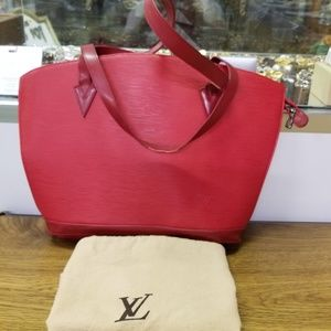 VINTAGE LOUIS VUITTON ST JACQUES BAG AND DUSTBAG